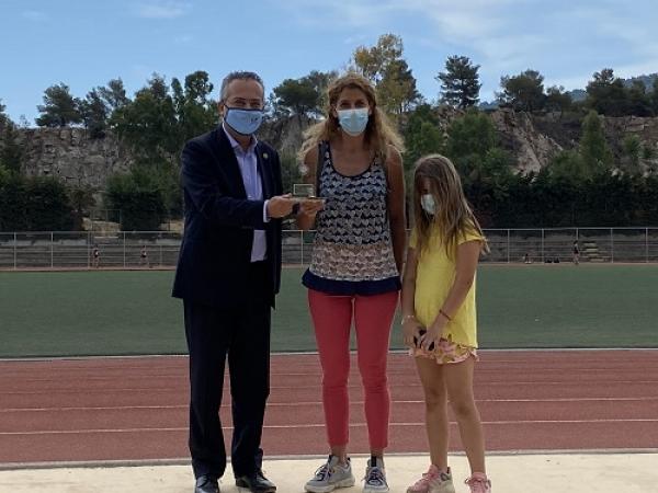 """Εγκαίνια Γηπέδου Στίβου στο Αθλητικό Κέντρο Χολαργού """"Αντώνιος Πολύδωρας"""""""